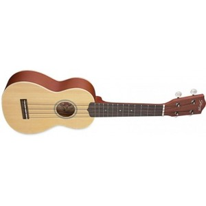 Stagg Soprano Ukulele with Solid Spruce Top