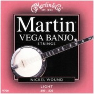 Martin V700 Banjo Strings