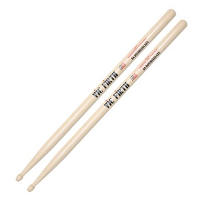 Vic Firth 5A DoubleGlaze Drumsticks - Wood Tip