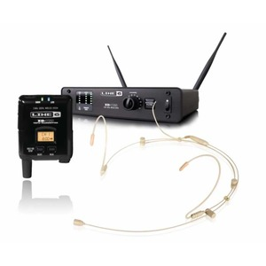 Line 6 XD-V55HS Digital Wireless Headset in TAN