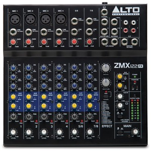 Alto ZMX122FX 8 Channel Mixer with Effects