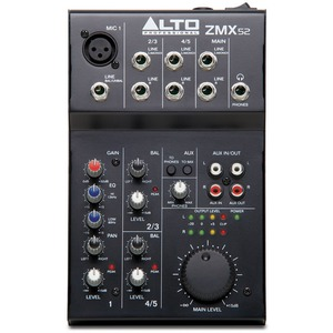 Alto ZMX52 5 Channel Mixer