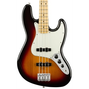 Fender Player Jazz Bass - Maple Fingerboard - Player Jazz Bass - 3-colour Sunburst / Maple