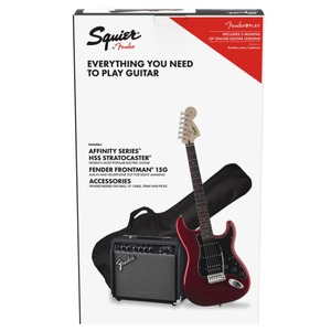 Squier HSS Strat Package with 15G Amp