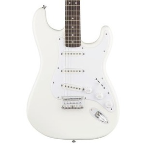 Squier Bullet HARD TAIL Strat - Arctic White