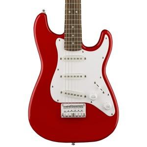 Squier Mini 3/4 Size Electric Guitar v2 - Dakota Red