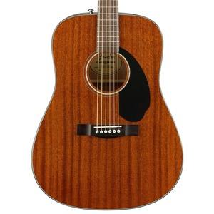 Fender CD60S All Mahogany Solid Top Dreadnought Acoustic Guitar