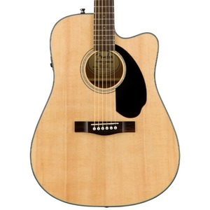 Fender CD60SCE Dreadnought Electro Acoustic Guitar - Natural