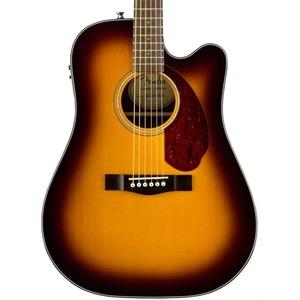 Fender CD140SCE Dreadnought Electro Acoustic inc Hard Case - Sunburst