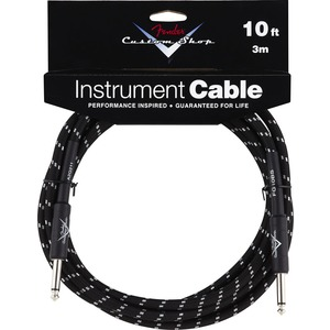 Fender Custom Shop Black Tweed Instrument Cable
