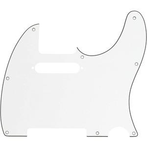 Fender Tele Pickguard 8 Hole - 3 Ply - Parchment