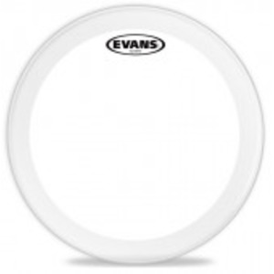 Evans EQ2 Clear Bass Drum Batter Head