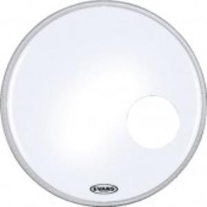 Evans EQ3 Resonant Smooth White Bass Drum Head