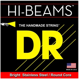 DR Hi-Beam - 4 String Set of Bass Strings