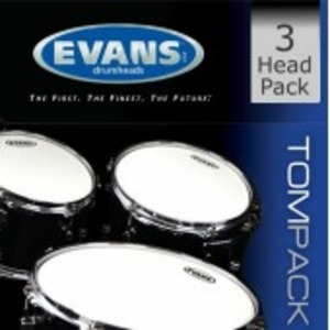 Evans G2 Clear Tom Pack