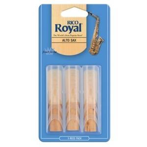 Rico Royal Alto Sax Reeds - 3 Pack
