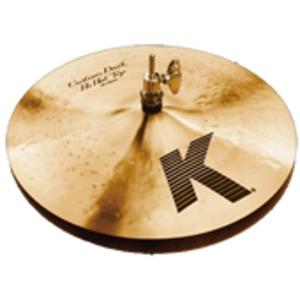 Zildjian K Custom Hi Hats - Dark