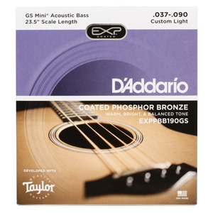 D'addario GS MINI Bass Guitar Strings - Phosphor Bronze 37-90