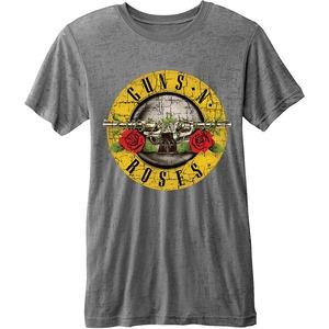 Official Guns N Roses Burn-Out Logo T-Shirt