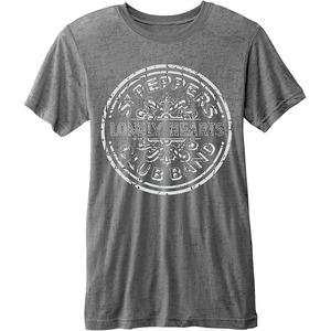 Official Beatles Burn-Out Sgt Pepper T-Shirt