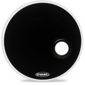 Evans EMAD Resonant Black Drum Head