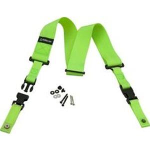 """Dimarzio DD2200N Clip Lock 2"""" Nylon Strap - Vivid Green"""