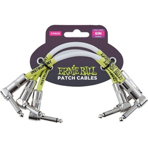 Ernie Ball Patch Cable 3 Pack