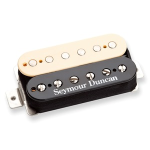 Seymour Duncan Duncan Distortion SH-6n Humbucker Neck Pickup - Reverse Zebra