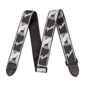 Fender Monogrammed Strap - Black / Grey