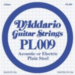 D'addario Plain Steel Single String - Electric / Acoustic