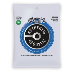 Martin Authentic Acoustic Strings SP Phosphor Bronze