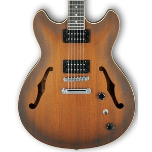 Ibanez AS53 Artcore Semi-Hollow Guitar - Tobacco Flat