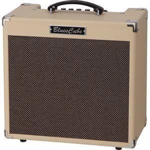 Roland Blues Cube HOT Guitar Combo - Blues Cube Hot 30w Guitar Amp - Vintage Blonde