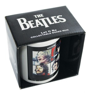 Official Beatles Boxed Mug - Let It Be
