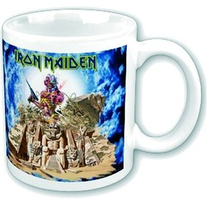 Official Iron Maiden Boxed Mug - Somewhere Back In Time