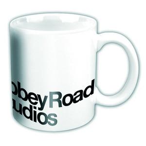 Official Abbey Road Studios Boxed Mug - Black Logo On White