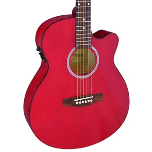 Brunswick BTK30 Electro Acoustic Guitar - Red