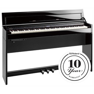 Roland DP603 Slim Digital Piano - Polished Ebony