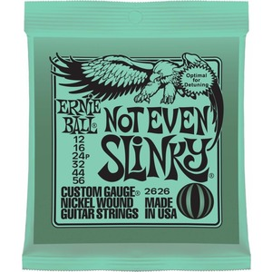 Ernie Ball Not Even Slinky Guitar Strings 12-56