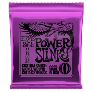 Ernie Ball Power Slinky Guitar Strings 11-48