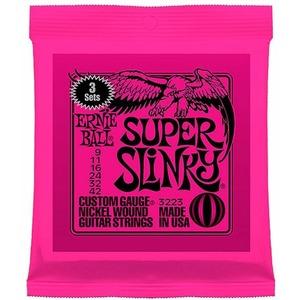 Ernie Ball Slinky Electric Guitar Strings - 3 Pack