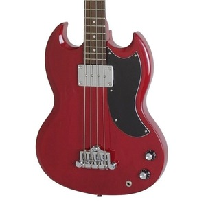 Epiphone EB0 Short Scale Bass Guitar - Eb0 Bass Guitar - Cherry