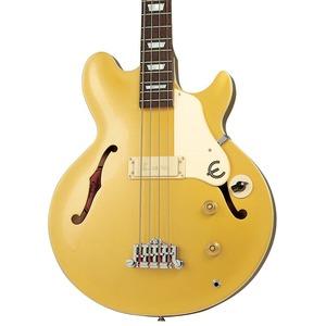 Epiphone Jack Casady Bass Guitar - Metallic Gold