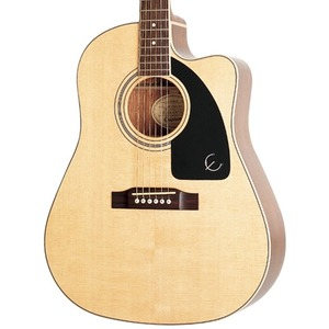 Epiphone AJ-220SCE Solid Top Electro Acoustic - Natural