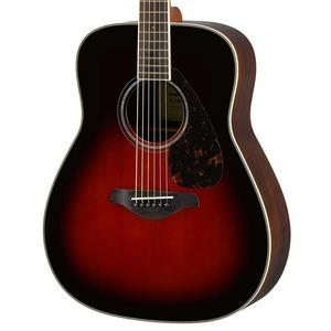 Yamaha FG830 Acoustic Guitar - Tobacco Brown Sunburst