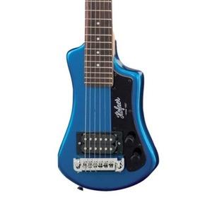 Hofner Shorty Guitar - Blue
