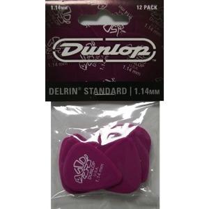 Jim Dunlop Delrin Standard 12 Pick Pack
