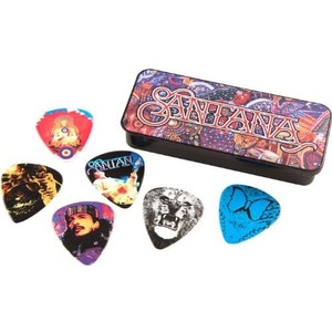Jim Dunlop Santana Pick Tin