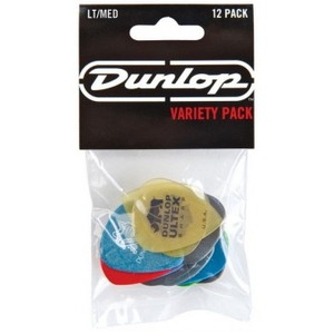 Jim Dunlop Variety 12 Pack of Picks