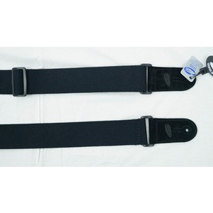 Leather Graft Adjustable Cotton Web Guitar Strap